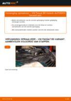 Chassisveer VW PASSAT Variant (3B6) monteren - stap-voor-stap tutorial
