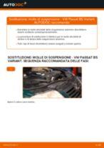 Come cambiare molle di sospensione della parte anteriore su VW Passat B5 Variant diesel - Guida alla sostituzione