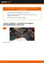 Byta fjädrar fram på VW Passat B5 Variant diesel – utbytesguide