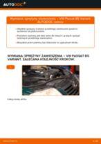 Jak wymienić sprężyny zawieszenia przód w VW Passat B5 Variant diesel - poradnik naprawy