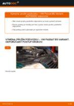 Ako vymeniť predné pružina podvozku na VW Passat B5 Variant diesel – návod na výmenu