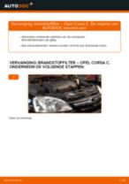 DELPHI HDF296 voor Corsa C Hatchback (X01) | PDF handleiding voor vervanging