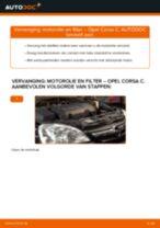 Hoe motorolie en filter vervangen bij een Opel Corsa C diesel – Leidraad voor bij het vervangen