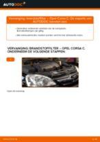 Hoe brandstoffilter vervangen bij een Opel Corsa C diesel – Leidraad voor bij het vervangen