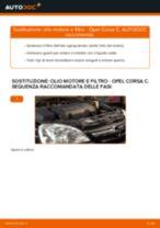 Come cambiare olio motore e filtro su Opel Corsa C diesel - Guida alla sostituzione