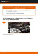 Manual de reparație OPEL CORSA - instrucțiuni pas cu pas și tutoriale