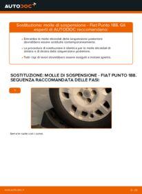 Come effettuare una sostituzione di Molla Ammortizzatore su 1.2 60 Fiat Punto 188