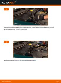 Wie der Wechsel durchführt wird: Innenraumfilter 1.9 TDI Passat 3B6 tauschen