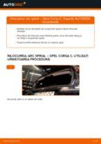 Cum să schimbați: arc spiral din spate la Opel Corsa C diesel   Ghid de înlocuire