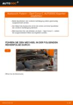 Radnabe wechseln OPEL CORSA: Werkstatthandbuch