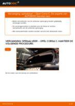 Hoe spiraalveer achteraan vervangen bij een Opel Corsa C diesel – Leidraad voor bij het vervangen