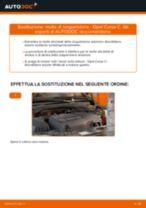 Manuale online su come cambiare Ganasce Freno a Mano Ford Mondeo ba7
