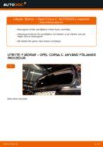 Byta fjädrar bak på Opel Corsa C diesel – utbytesguide