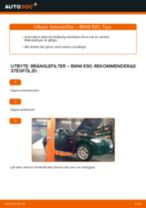 Byta bränslefilter på BMW E90 diesel – utbytesguide