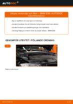 Byta motorolja och filter på BMW E90 diesel – utbytesguide