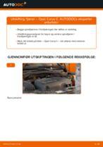 Montering Spiralfjær OPEL CORSA C (F08, F68) - steg-for-steg manualer