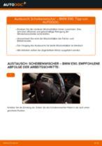 Wie BMW E90 Diesel Scheibenwischer vorne wechseln - Schritt für Schritt Anleitung