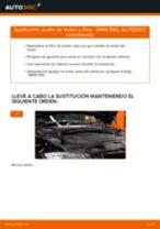 Cómo cambiar: aceite y filtro - BMW E90 diésel | Guía de sustitución