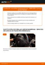 Cómo cambiar: escobillas limpiaparabrisas de la parte delantera - BMW E90 diésel | Guía de sustitución