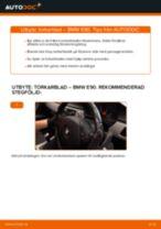 Byta torkarblad fram på BMW E90 diesel – utbytesguide