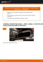 OPEL Pružina predné vľavo vpravo vymeniť vlastnými rukami - online návody pdf