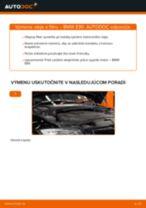 Ako vymeniť motorové oleje a filtre na BMW E90 diesel – návod na výmenu