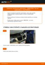 Ako vymeniť predné brzdové platničky na BMW E90 bensin – návod na výmenu