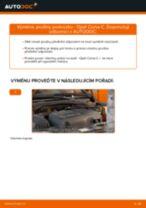 Jak vyměnit přední pružiny podvozku na Opel Corsa C diesel – návod k výměně