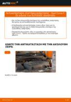 Πώς να αλλάξετε ελατήρια ανάρτησης εμπρός σε Opel Corsa C diesel - Οδηγίες αντικατάστασης