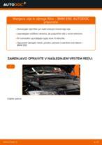 Kako zamenjati avtodel motorna olja in filter na avtu BMW E90 diesel – vodnik menjave