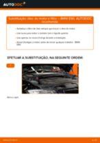 Mudar Cabeçotes Do Amortecedores BMW 3 SERIES: manual técnico