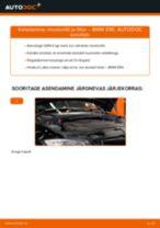 Kuidas vahetada BMW E90 diisel mootoriõli ja filtrit – õpetus