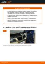 Elülső féktárcsák-csere BMW E90 benzin gépkocsin – Útmutató