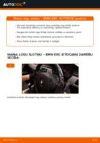 Kā nomainīt: priekšas logu slotiņas BMW E90 dīzelis - nomaiņas ceļvedis