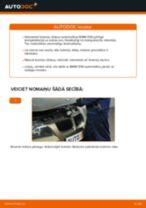 Kā nomainīt: priekšas bremžu diskus BMW E90 benzīns - nomaiņas ceļvedis
