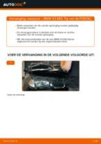 Werkplaatshandboek voor BMW X3 Van (G01)