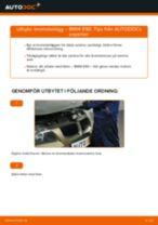 Byta bromsbelägg fram på BMW E90 bensin – utbytesguide