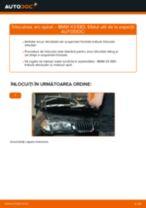 Schimbare Indicator de uzura placute frana BMW X3: pdf gratuit