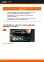Wie Motorhalter BMW X3 tauschen und einstellen: PDF-Tutorial