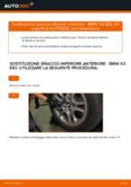 Montaggio Braccetto oscillante BMW X3 (E83) - video gratuito