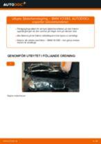 Byta fjäderbenslagring fram på BMW X3 E83 bensin – utbytesguide