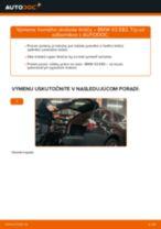 Výmena Drżiak ulożenia stabilizátora BMW X3: dielenská príručka
