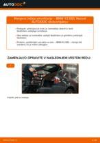BMW X3 navodila za popravilo in vzdrževanje