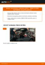 BMW X3 Van (G01) darbnīcas rokasgrāmata