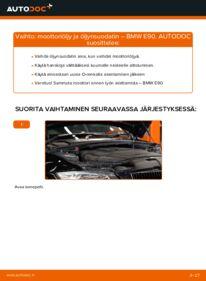 Kuinka vaihtaa Öljynsuodatin 320d 2.0 BMW E90 -autoon