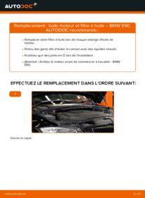 Comment effectuer un remplacement de Filtre à Huile sur 320d 2.0 BMW E90