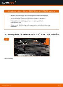 Jak przeprowadzić wymianę: Filtr oleju w BMW 3 SERIES