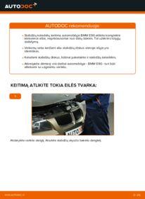 Kaip atlikti keitimą: 320d 2.0 BMW E90 Stabdžių diskas