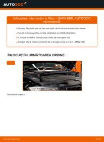 Cum să efectuați înlocuirea: Filtru ulei la 320d 2.0 BMW E90