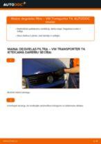 Remonts VW TRANSPORTER - problēmu novēršanas pamācības